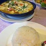 Chicken curry, best Thai
