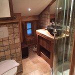Ванная комната, #6 под крышей