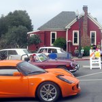 Red House Cafe - Concourse d'Elegance Rally Parade, Pacific Grove, Ca