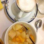 каппучино на завтрак
