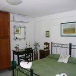 camera verde doppia standard