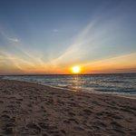 Puka Beach sunset