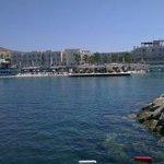 Hotellet från båtutflykten