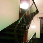 Необычная лестница на верхние этажи - экзотика