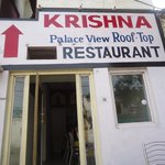 Krishna Palace View Rooftop-Restaurant