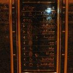 Lobby tabelası