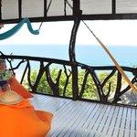 uitzicht seaview suite en ruime veranda