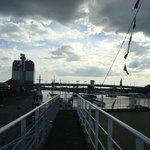 panorama dalla nave