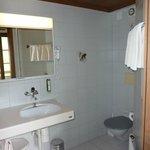 Gletschergarten room 21 bathroom