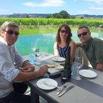 Overlooking vineyards X