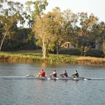 Rowing on nthe river