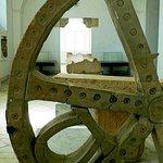 Museo Bardo: Tunisi: Tunisia: particolare di ruota