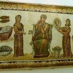 Museo Bardo: Tunisi: Tunisia: matrona romana con ancelle
