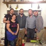 A sinistra Gigliola ed Enrico, i due gestori :)
