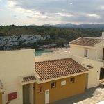 Room view over to Cala Romantica