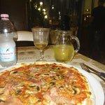 Proscuitto & Mushroom Pizza