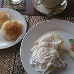 朝食。洋食です。