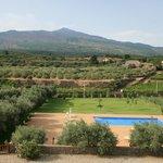 view from verandah of Etna