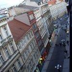 Widok na ulicę