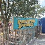 Radiator Springs! My favorite !!