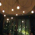 Lighting fixture on the top floor