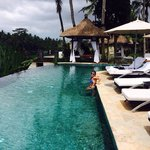 A true great escape from reality in the amazing infinity pool.
