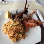 Paella frutti di mare