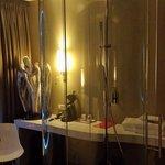 La douche dans la chambre