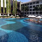 Enjoy every square metre of the amazing pool