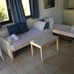 Living room/kids beds
