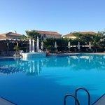 Avithos Resort pool taken from the Pool Bar