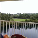 view fom the balcony
