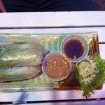 involtini di verdure con pasta di riso
