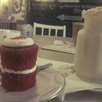 Nom nom red velvet cake!!!!