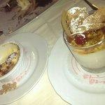 Dolce di ricotta siciliana al caramello e creme brulee