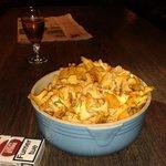Magnifaïc plat des frites montagnardes