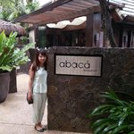 Abaca front sign