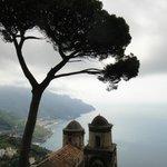 Vista clássica a partir da Villa Rufollo