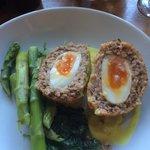 Scotch eggs Devine .... Big portion