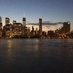 Skyline von Brooklyn aus gesehen