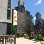 Veranda mit Blick auf Empire State Building