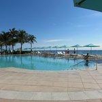 Uma das vária piscinas.