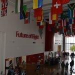 Hall d'entrée du musée Future of Flight
