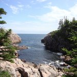View of the coast from Jack Pine trail