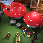 The lobby with full play area for kids of all ages ... A great place to chill while your kids en