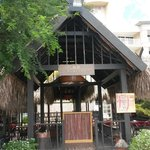 Japanese restaurant (tepanyaki) on the resort
