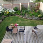 Lovely garden and dining area
