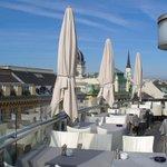 Balcony restaurant