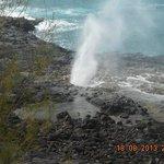 Blowhole, southern coast