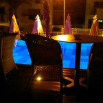 adults only pool at night